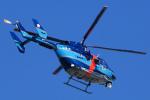 ちゃぽんさんが、成田国際空港で撮影した千葉県警察 BK117C-1の航空フォト(写真)