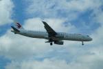 FRTさんが、金海国際空港で撮影した中国東方航空 A321-231の航空フォト(飛行機 写真・画像)