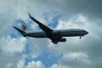 FRTさんが、金海国際空港で撮影した中国国際航空 737-89Lの航空フォト(飛行機 写真・画像)