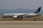 セブンさんが、関西国際空港で撮影したユナイテッド航空 787-8 Dreamlinerの航空フォト(写真)