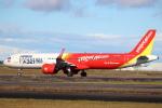 セブンさんが、新千歳空港で撮影したベトジェットエア A321-271Nの航空フォト(飛行機 写真・画像)