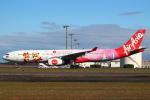 セブンさんが、新千歳空港で撮影したタイ・エアアジア・エックス A330-343Xの航空フォト(飛行機 写真・画像)