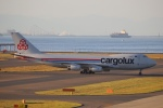 中部国際空港 - Chubu Centrair International Airport [NGO/RJGG]で撮影されたカーゴルクス - Cargolux [CLX]の航空機写真