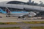 ぷぅぷぅまるさんが、関西国際空港で撮影したカタール航空 A330-202の航空フォト(写真)