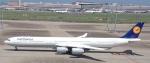 TFALさんが、羽田空港で撮影したルフトハンザドイツ航空 A340-642の航空フォト(写真)
