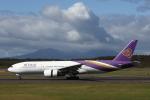 ATOMさんが、新千歳空港で撮影したタイ国際航空 777-2D7/ERの航空フォト(飛行機 写真・画像)