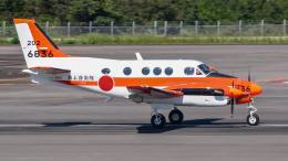 にっしーさんが、高松空港で撮影した海上自衛隊 TC-90 King Air (C90)の航空フォト(飛行機 写真・画像)