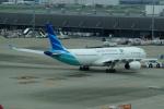 FRTさんが、羽田空港で撮影したガルーダ・インドネシア航空 A330-343Xの航空フォト(飛行機 写真・画像)