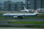 FRTさんが、羽田空港で撮影した中国国際航空 A330-343Xの航空フォト(飛行機 写真・画像)