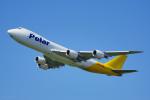 ちゃぽんさんが、成田国際空港で撮影したアトラス航空 747-87UF/SCDの航空フォト(写真)