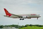 ちゃぽんさんが、成田国際空港で撮影したエア・インディア 787-8 Dreamlinerの航空フォト(飛行機 写真・画像)
