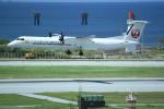 kumagorouさんが、那覇空港で撮影した琉球エアーコミューター DHC-8-402Q Dash 8 Combiの航空フォト(写真)