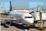 セブンさんが、アムステルダム・スキポール国際空港で撮影したスモール プラネット エアラインズ A320-214の航空フォト(飛行機 写真・画像)