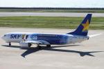 セブンさんが、神戸空港で撮影したスカイマーク 737-81Dの航空フォト(飛行機 写真・画像)