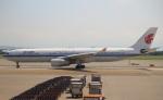 セブンさんが、台湾桃園国際空港で撮影した中国国際航空 A330-343Xの航空フォト(飛行機 写真・画像)