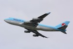 HISAHIさんが、福岡空港で撮影した大韓航空 747-4B5の航空フォト(写真)