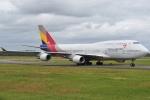 shimashimaさんが、成田国際空港で撮影したアシアナ航空 747-48Eの航空フォト(写真)