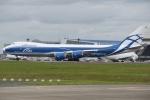 shimashimaさんが、成田国際空港で撮影したエアブリッジ・カーゴ・エアラインズ 747-83QFの航空フォト(写真)