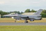 ちゃぽんさんが、フェアフォード空軍基地で撮影したオランダ王立空軍 F-16AM Fighting Falconの航空フォト(写真)