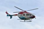 Gambardierさんが、岡南飛行場で撮影した島根県防災航空隊 BK117C-2の航空フォト(写真)