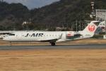 キイロイトリさんが、松山空港で撮影したジェイ・エア CL-600-2B19 Regional Jet CRJ-200ERの航空フォト(飛行機 写真・画像)