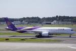 とらとらさんが、成田国際空港で撮影したタイ国際航空 A350-941XWBの航空フォト(飛行機 写真・画像)