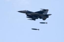 北枝 輝造さんが、三沢飛行場で撮影したアメリカ空軍 F-16CM-50-CF Fighting Falconの航空フォト(写真)