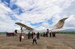 Cimarronさんが、ダウェイ空港 - Dawei Airport [TVY/VYDW]で撮影したミャンマー・ナショナル・エアウェイズ - Myanmar National Airlines [UB/UBA]の航空フォト(飛行機 写真・画像)