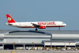 まいけるさんが、スワンナプーム国際空港で撮影したキングフィッシャー航空 A321-232の航空フォト(飛行機 写真・画像)