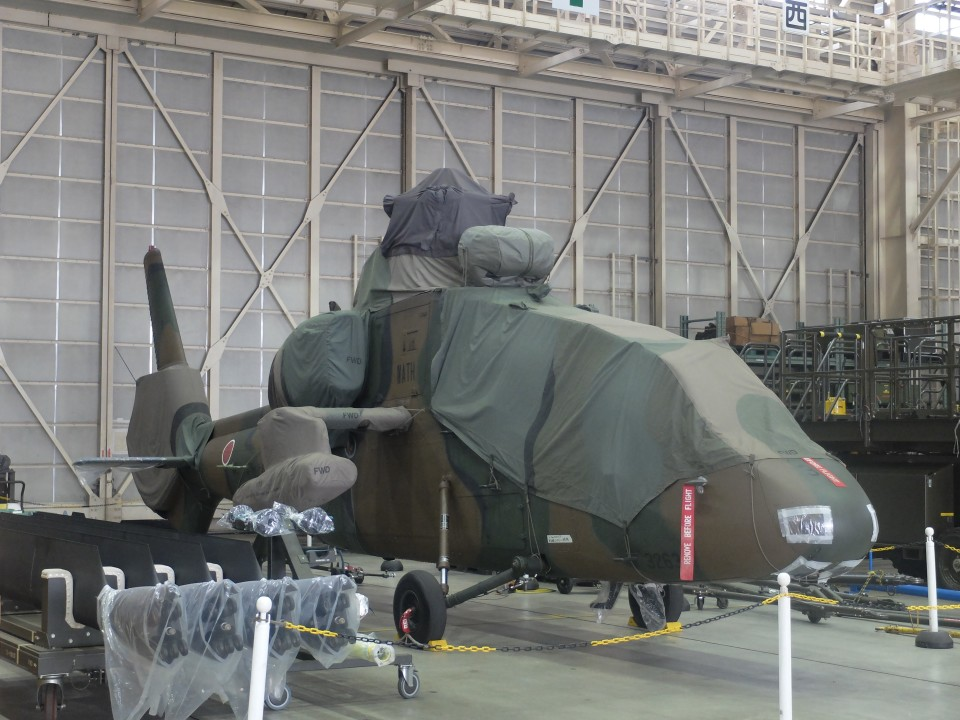 Smyth Newmanさんの陸上自衛隊 Kawasaki OH-1 (32637) 航空フォト