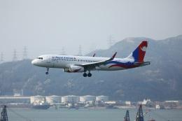 garrettさんが、香港国際空港で撮影したネパール航空 A320-233の航空フォト(飛行機 写真・画像)