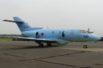 セブンさんが、千歳基地で撮影した航空自衛隊 U-125A(Hawker 800)の航空フォト(飛行機 写真・画像)