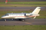 セブンさんが、新千歳空港で撮影したビスタジェット CL-600-2B16 Challenger 605の航空フォト(飛行機 写真・画像)