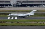 スポット110さんが、羽田空港で撮影したアメリカ企業所有 BD-700-1A10 Global Expressの航空フォト(写真)