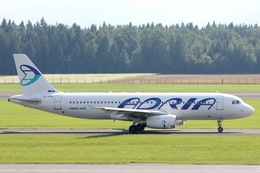 kinsanさんが、リュブリャナ空港で撮影したアドリア航空 A320-231の航空フォト(飛行機 写真・画像)