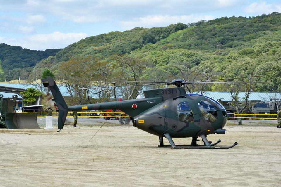 Gambardierさんの陸上自衛隊 Kawasaki OH-6D (31311) 航空フォト