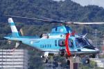 katsuura.Dさんが、広島へリポートで撮影した広島県警察 A109E Powerの航空フォト(写真)