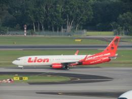 くろぼしさんが、シンガポール・チャンギ国際空港で撮影したライオン・エア 737-9GP/ERの航空フォト(写真)