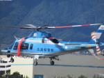 ランチパッドさんが、広島へリポートで撮影した広島県警察 A109E Powerの航空フォト(写真)