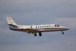 やまけんさんが、仙台空港で撮影した朝日新聞社 560 Citation Encoreの航空フォト(写真)