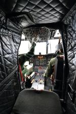 たまさんが、府中基地で撮影した航空自衛隊 CH-47J/LRの航空フォト(写真)