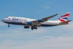 Tomo-Papaさんが、ロンドン・ヒースロー空港で撮影したブリティッシュ・エアウェイズ 747-436の航空フォト(写真)