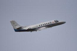 kumagorouさんが、仙台空港で撮影した朝日新聞社 560 Citation Encoreの航空フォト(写真)