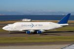 SKY KANSAIさんが、中部国際空港で撮影したボーイング 747-4H6(LCF) Dreamlifterの航空フォト(写真)