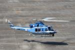 ワイエスさんが、名古屋飛行場で撮影した愛知県警察 412EPの航空フォト(飛行機 写真・画像)