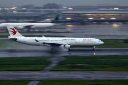 恵二さんが、羽田空港で撮影した中国東方航空 A330-343Xの航空フォト(飛行機 写真・画像)