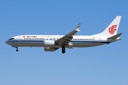 航空フォト:B-1395 中国国際航空 737 MAX 8