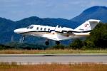 くれないさんが、高松空港で撮影したオートパンサー 525A Citation CJ1の航空フォト(写真)