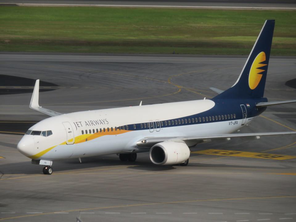 くろぼしさんのジェットエアウェイズ Boeing 737-800 (VT-JFS) 航空フォト