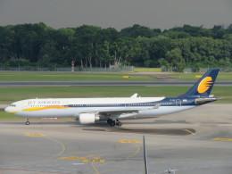 くろぼしさんが、シンガポール・チャンギ国際空港で撮影したジェットエアウェイズ A330-302の航空フォト(写真)